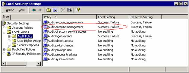 Intrusion Detection via the Windows Event Log - MonitorWare